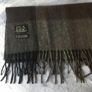 Jos A Bank cashmere scarf (men's)